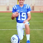 Sean Renfree paced the Blue Devil offense in a situational scrimmage Tuesday evening. -BDN Photo