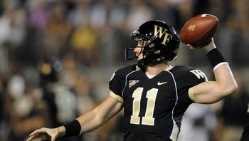 Tanner Price led the Demon Deacons to a shootout victory over Duke last season- Blogger So Dear Photo