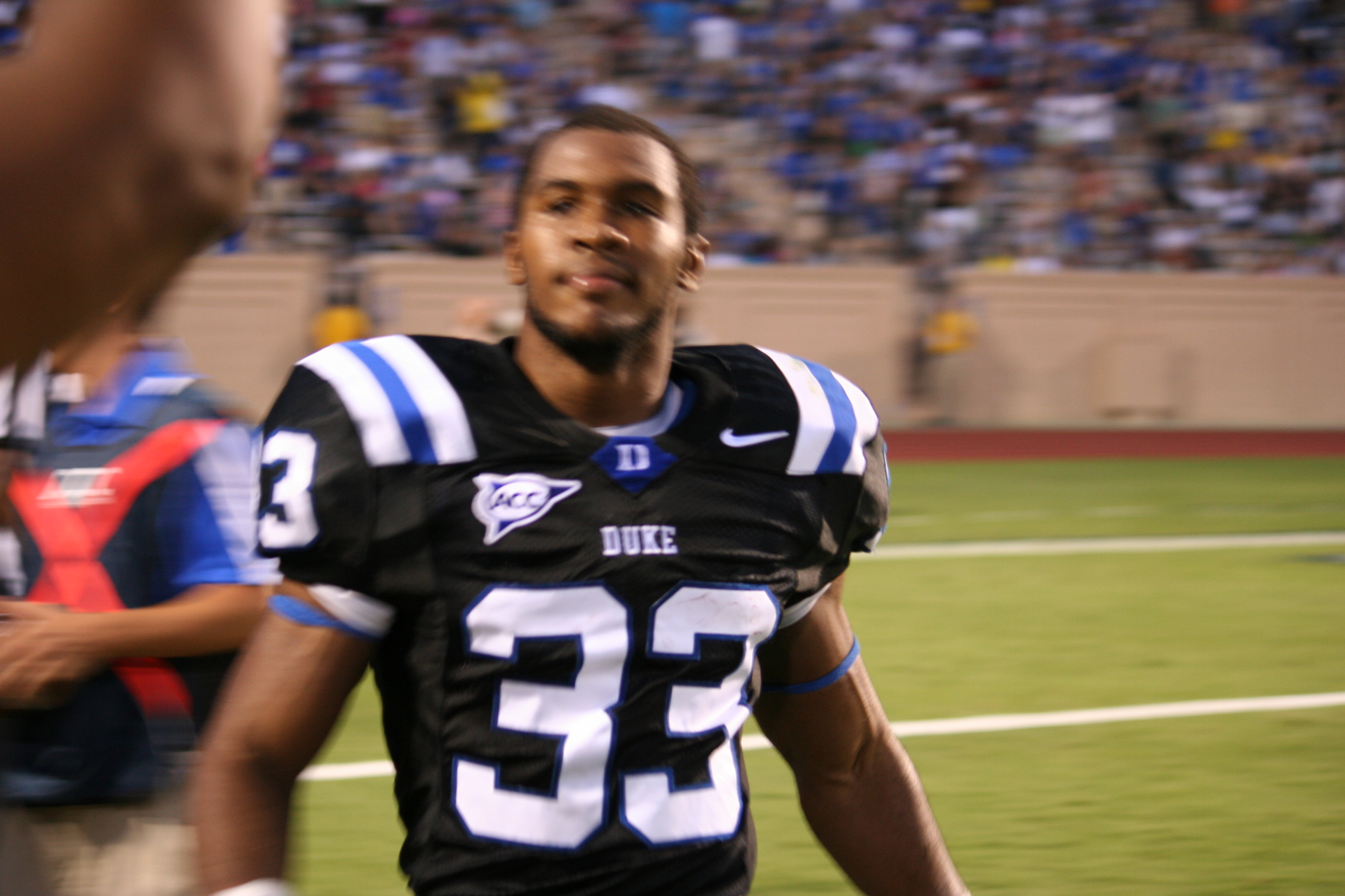 Senior Desmond Scott leads the Blue Devils against his hometown rival NCCU. BDN Photo