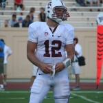 Stanford&#039;s Andrew Luck was finally able to smile in the 2nd half against Duke