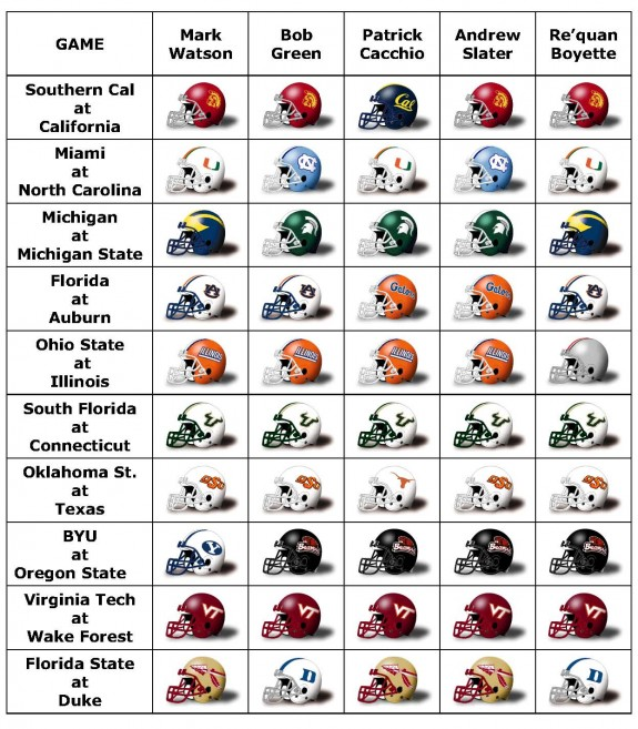 BDN Picks week 7