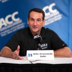 "Coach K – ""I'll be coach for a while.""  Duke head honcho talks Seth Curry as well"