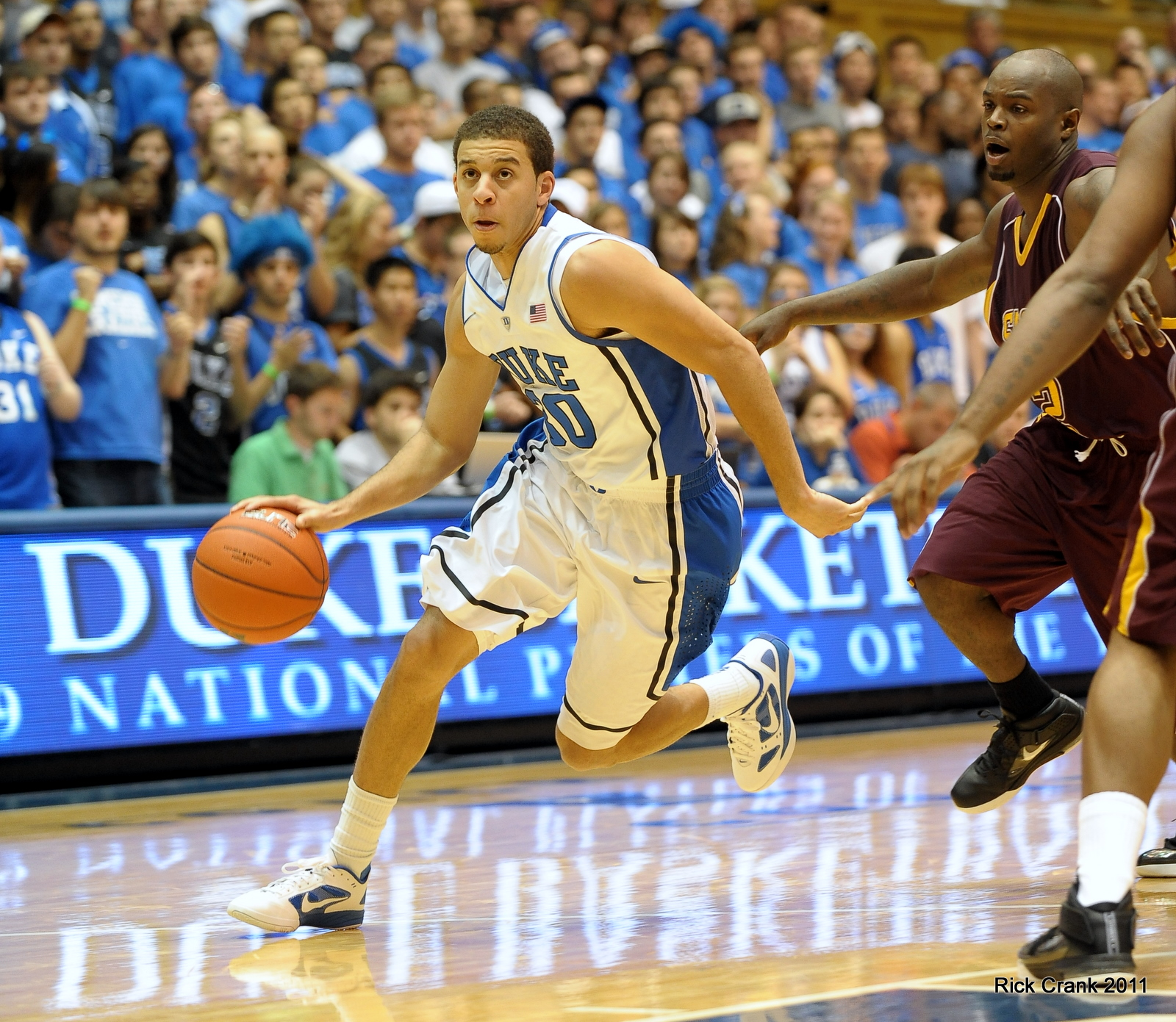 Seth Curry, copyright BDN Photo