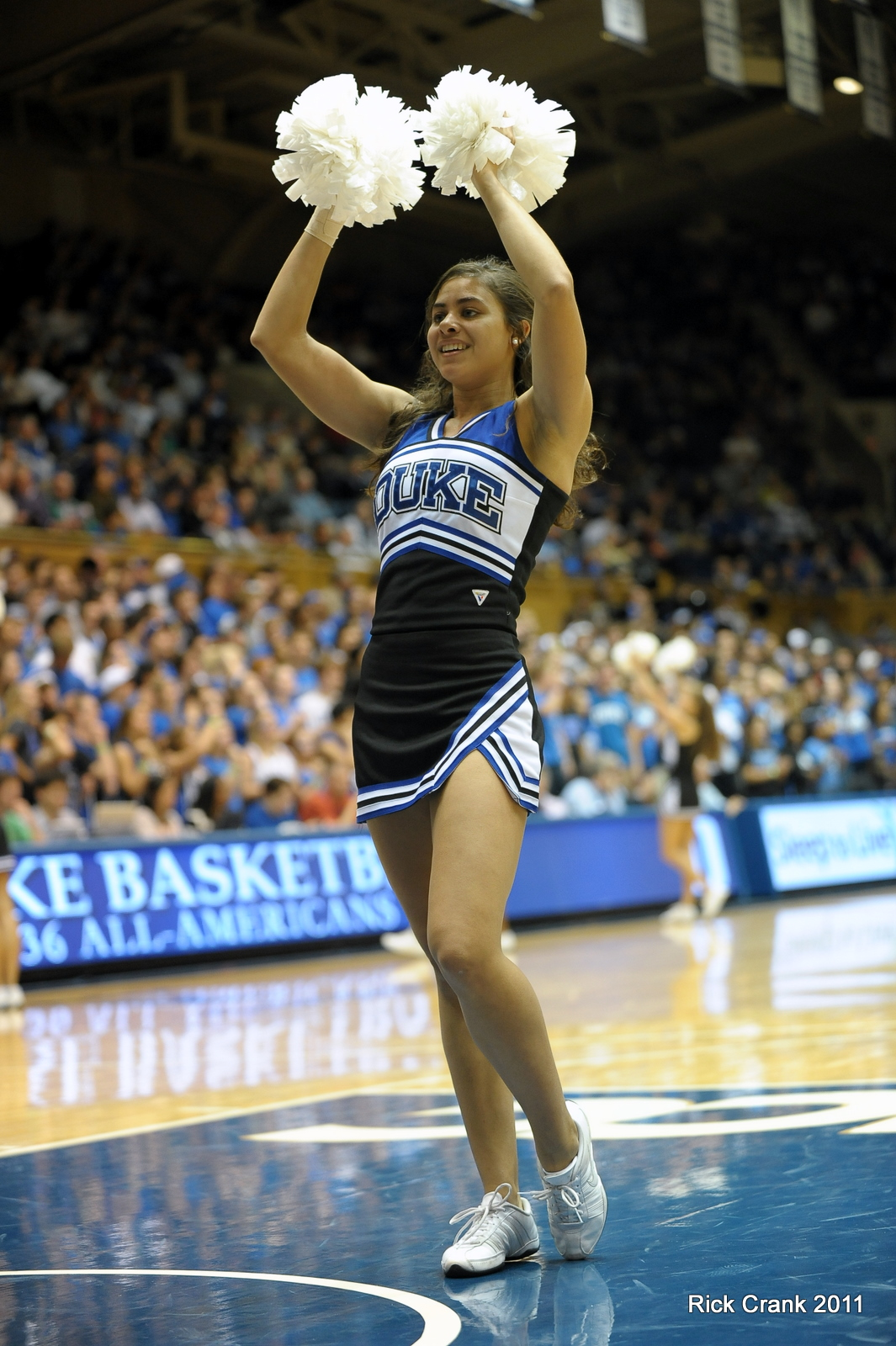 BDN Monday Musings Duke Cheerleader of the Week - BDN Photo/Rick Crank