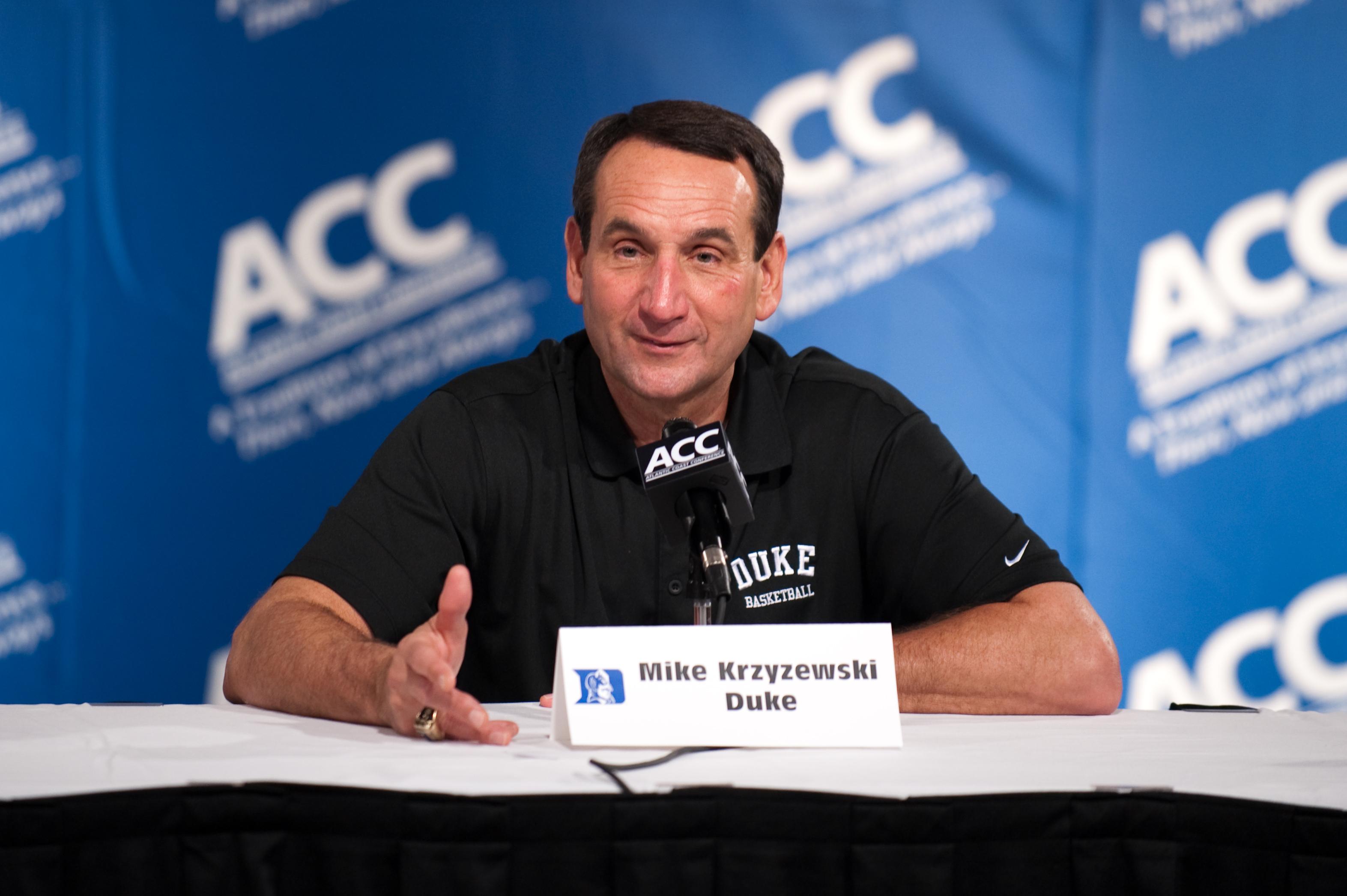NCAA BASKETBALL: OCT 20 ACC Operation Basketball Media Day