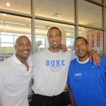 Duke is Family!  JWill, CWell and Cdu
