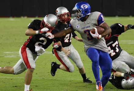RB Shaquille Powell committed to Duke over the weekend.