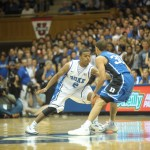 Quinn Cook during Blue-White game