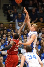 Mason Plumlee and Ryan Kelly, Photo by Mark Watson