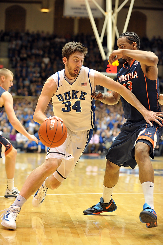 Duke Senior Ryan Kelly, Lance King Photo