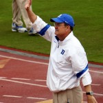 Duke Head Coach David Cutcliffe -BDN Photo