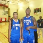 Matt Jones and Julius Randle of the Texas Titans