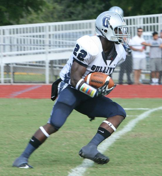 Gulliver Prep RB Bo Ellis ran for over 1300 yards as a junior