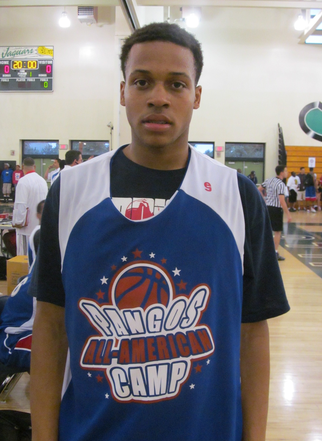 New Jersey Guard Isaiah &quot;Boogie&quot; Briscoe, Photo by Andrew Slater