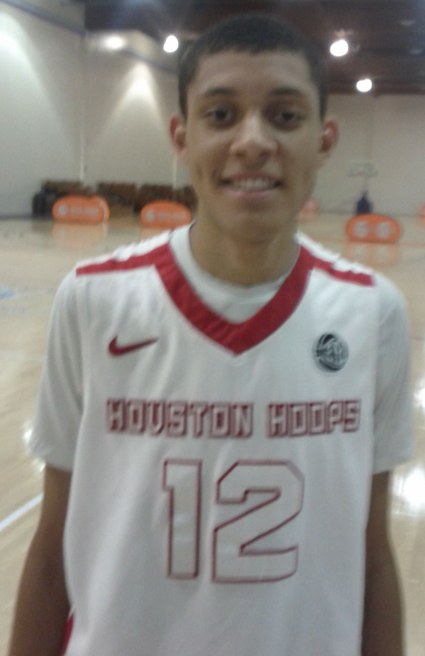 Justin Jackson of Spring, Texas, Photo by Andrew Slater