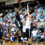 Amile Jefferson drops 29 points at the NC Pro-Am