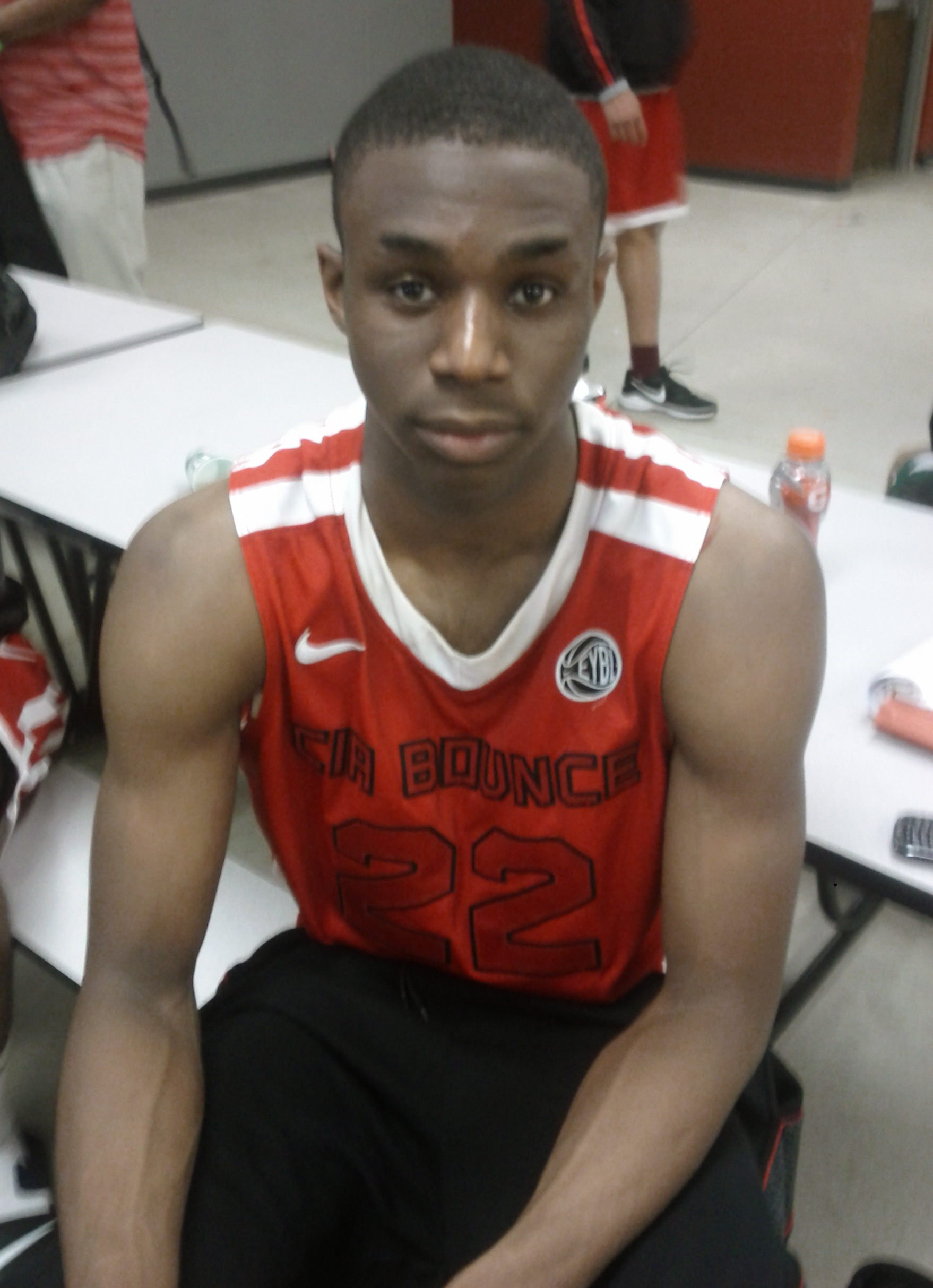 Gracious Canadian Star and Duke Recruit Andrew Wiggins, Photo by Andrew Slater
