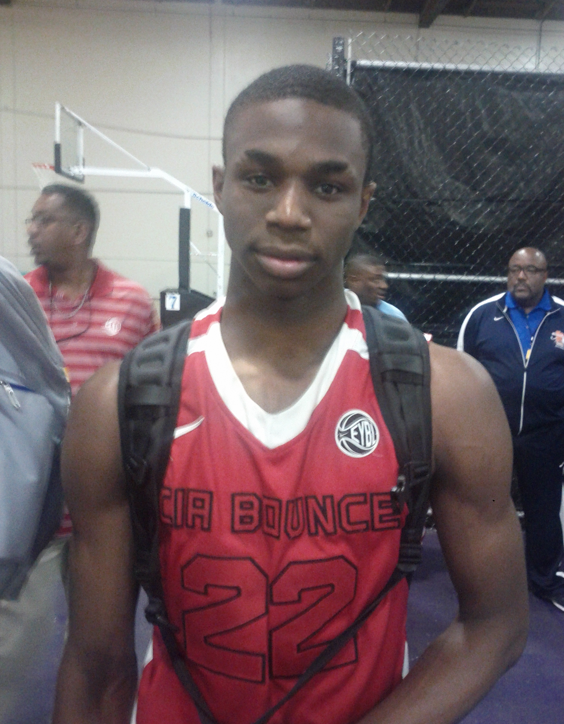 Andrew Wiggins of CIA Bounce, Photo by Andrew Slater