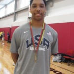 "6'11"" Jahlil Okafor, MVP of the FIBA 17U World Championships, Photo by Andrew Slater"