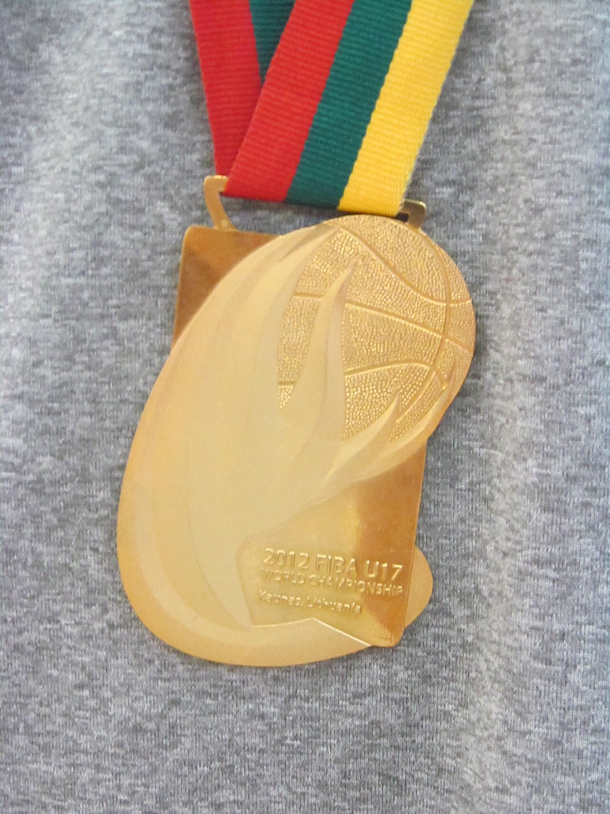 As Bright As His Future, The Gold Medal of Jahlil Okafor. Photo by Andrew Slater