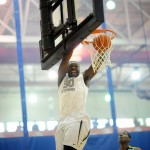 Julius Randle throws down a dunk - BDN Photo