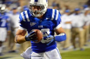Duke QB Brandon Connette took over for the injured Anthony Boone