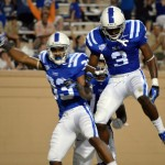 Desmond Scott and Jamison Crowder have given the Blue Devil offense a big lift in 2012 - BDN Photo
