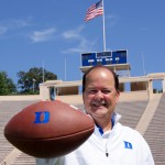 Coach Cut has his Blue Devils at 4-1 thus far this season.  Photo copyright Mark Watson/BDN