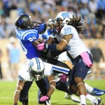 BDN Video – Duke defeats UNC and takes the Victory Bell – The Celebration