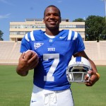 Anthony Boone QB Duke University.  Photo copyright Mark Watson/BDN