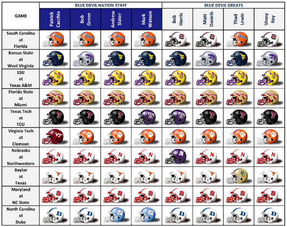 BDN Picks Week8