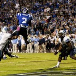 Jamison Crowder&#039;s game-winning TD catch already is solidified in Duke lore. - GoDuke Photo