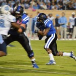 RB Josh Snead had a career high 99 yards against UNC - BDN Photo