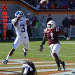 Jamison Crowder caught 8 passes for 127 yards at Virginia Tech - BDN Photo