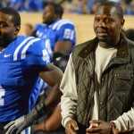 Former QB Thad Lewis was among the Blue Devil alumni who laid the foundation for Duke's bowl eligible 2012 season - BDN Photo