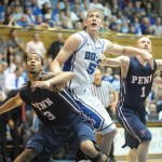 BDN Post Game Interview with Mason Plumlee who scores a Career High 28 points