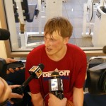 Kyle Singler talks of  his rookie season in Detroit