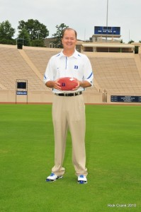 Coach Cutcliffe led the Blue Devils to their 2nd straight bowl-eligible season on Saturday in Blacksburg.