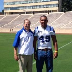 Duke Head Coach David Cutcliffe hosted top in-state DE Darian Roseboro on a recent unofficial visit.