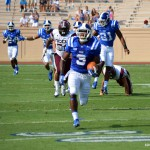 Duke shuts out NCCU 45-0 to open 2013 season