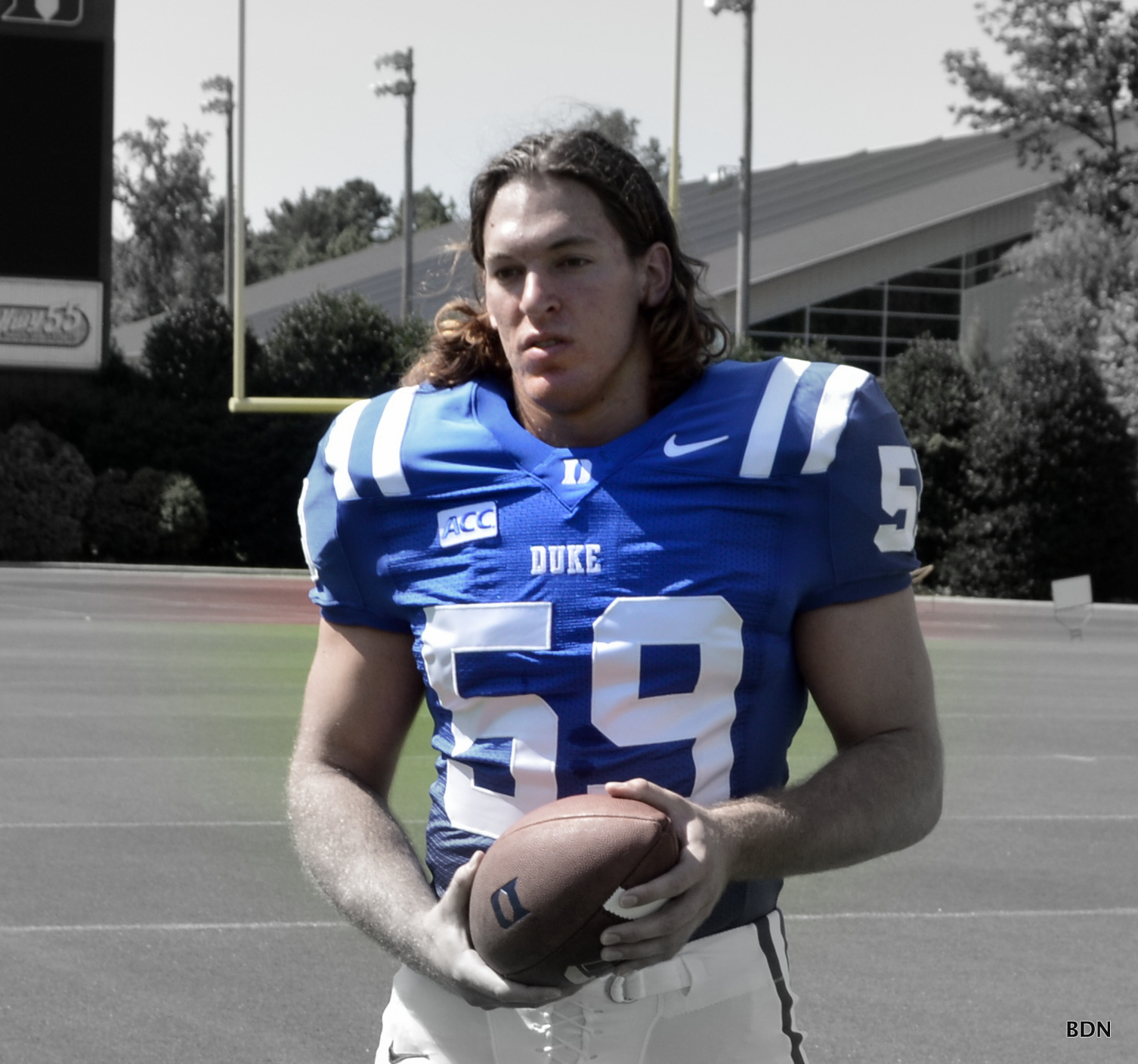LB Kelby Brown returns from injury for Duke in 2013