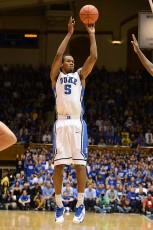 Rodney Hood vs Michigan, Lance King for BDN