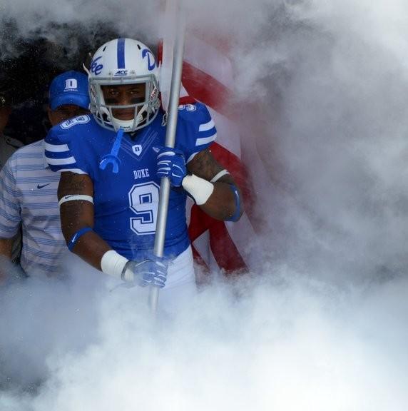 Here comes Duke