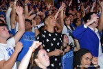 Jayson Tatum was right at home with the Cameron Crazies during his recent visit.