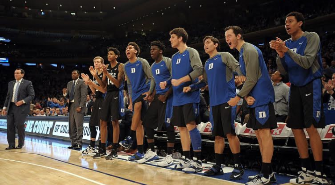 A short bench has been an issue for Duke,