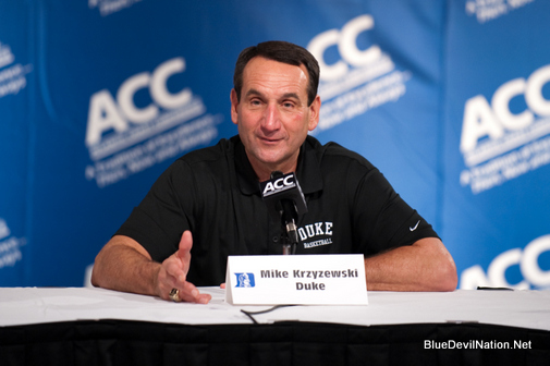 October 20 2010:  during the ACC Operation Basketball Media Day at the Renaissance Suites Hotel in Charlotte, North Carolina.
