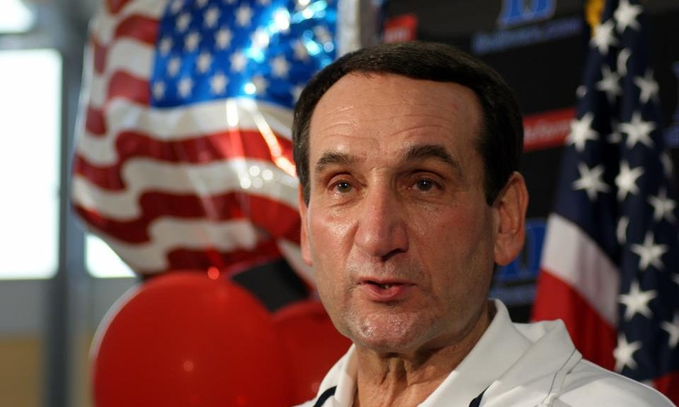Duke head man Coach K is going for Gold.