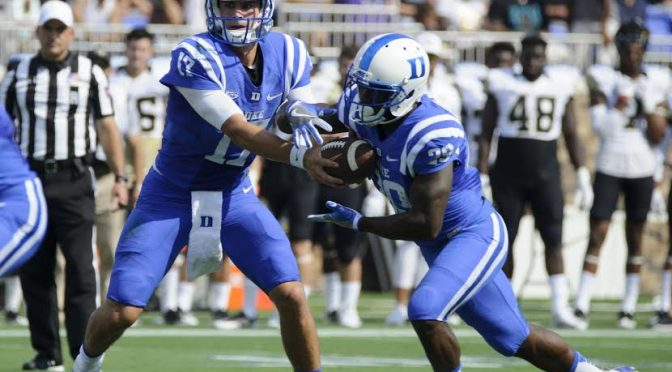 Blue Devil Nation 2017 Duke Football Schedule Released