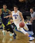 Grayson Allen like the chances of this years team and says he came back to win another title. He gives his preview of Duke Basketball.