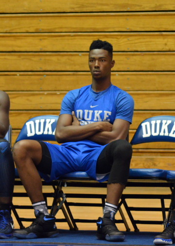 Harry Giles is working into shape slowly.